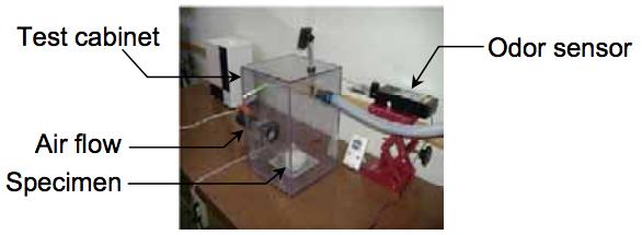 Odor testing equipment