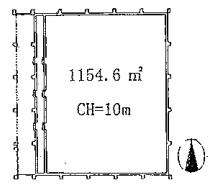 倉庫平面図