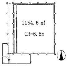 冷蔵庫平面図